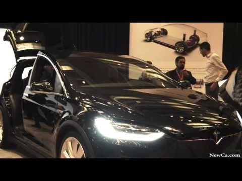 NewCa.com: 2016 AutoShow. Tesla Model X Canadian Premiere (4K Ultra HD video, photogallery)