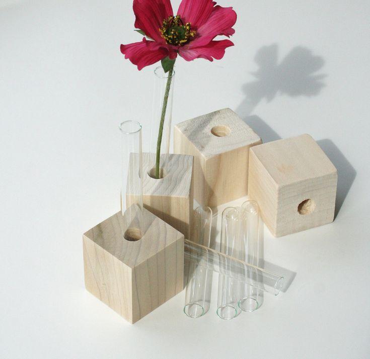 17 best images about test tube vases on pinterest wall for Test tube flower vase rack