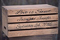 [tps_header] For those of you getting married in a barn, farm or other rustic wedding venue this post is for you. You can't beat a stack of wooden crates styled with bottles, jugs and lanterns to add interest to areas...