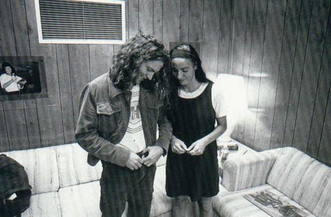 Eddie Vedder and Beth Liebling back in the early 90's (Eddie looking perfect as always)