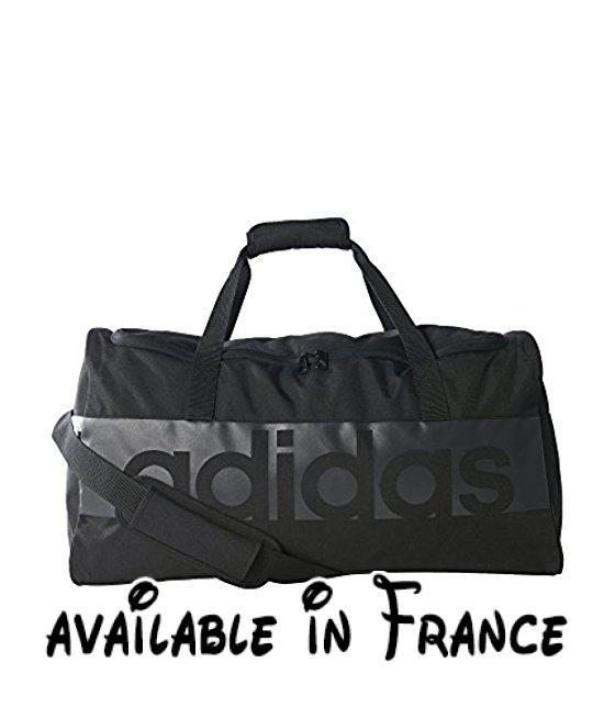 697c60bd70 B01M8OF7WS : adidas Uni Tiro Linear M Sac d'équipe Noir/Gris foncé ...