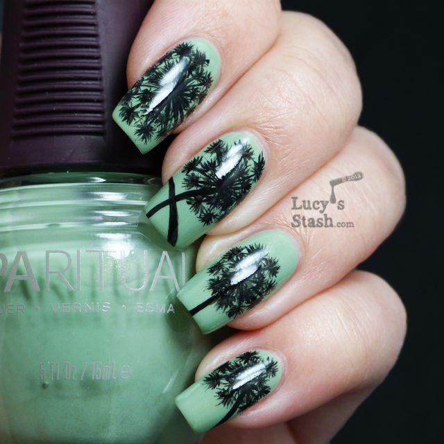 63 best Dandelion nail design (Pitypang köröm díszítés) images on ...