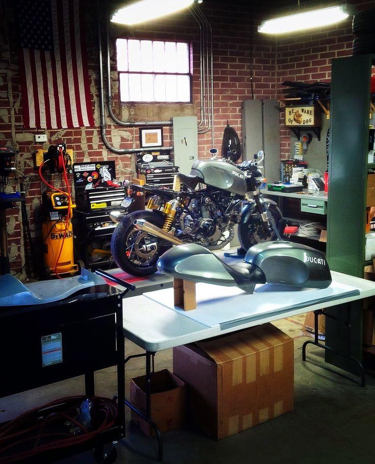 763 best garage images on pinterest arquitetura garages for Custom garage workshop