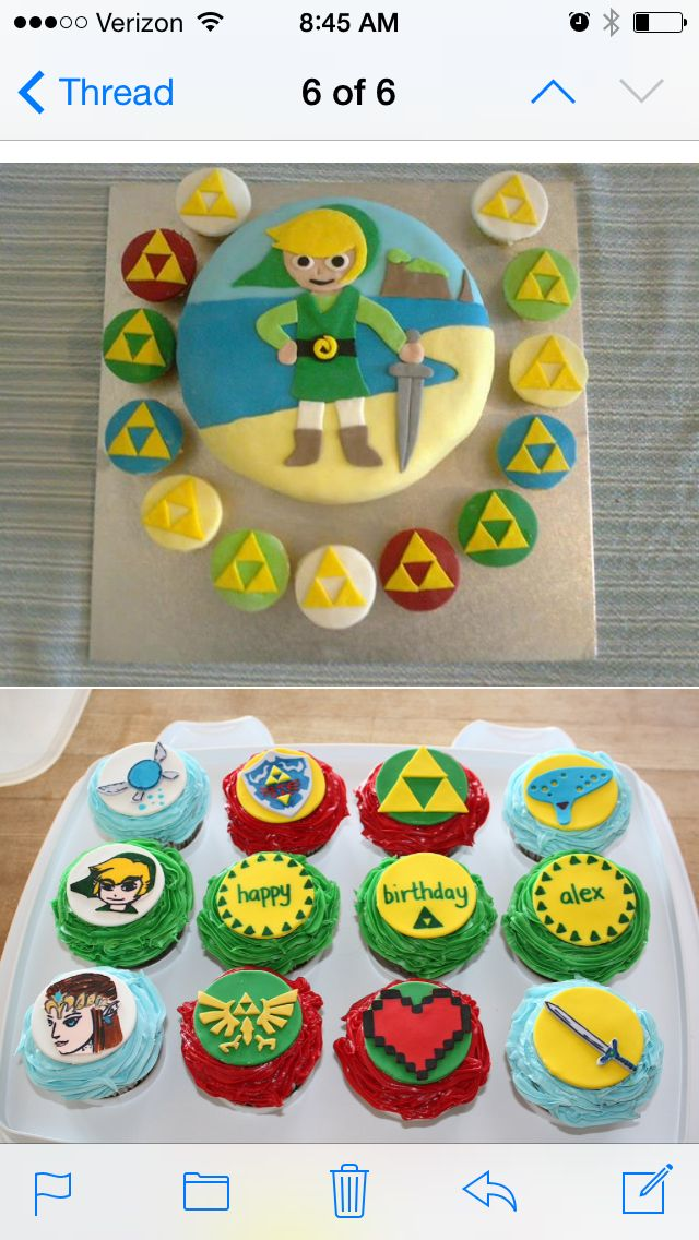 Zelda cake due this weekend...