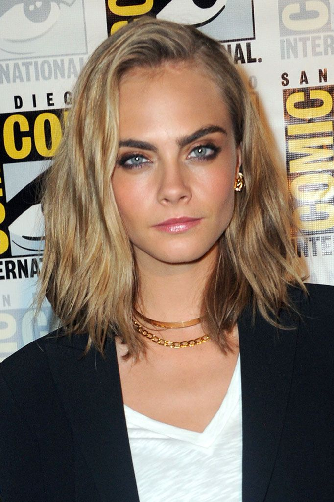 Cara Delevingne Has Just Debuted Her New Haircut Lob