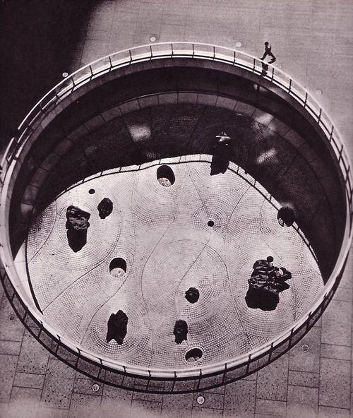 Garden for Chase Manhattan Bank Plaza, New York by Isamu Noguchi-