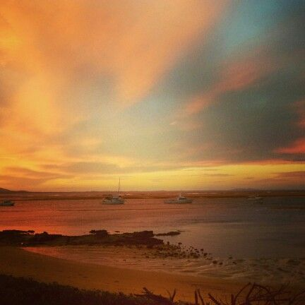 Sunset. Agnes Water, Australia