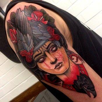 tatuajes dama fetiche