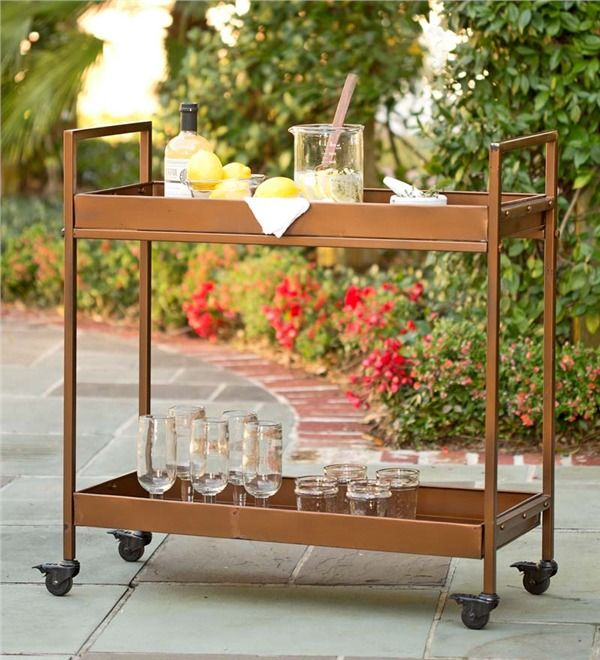 Main image for Indoor/Outdoor Rolling Bar Cart