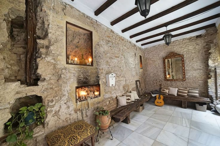 Check out this awesome listing on Airbnb: My 500 year old House Project - Houses for Rent in Sevilla
