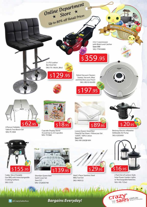 "Page 3 Easter Catalogue  ""Home & Garden"""