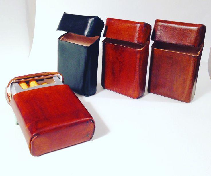 Portasigarette #handmade in cuoio ! Fatto a mano