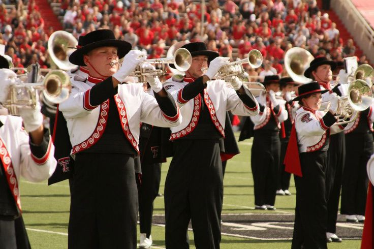 Texas Tech- Band | Lubbock | Pinterest | Tech, Texas tech ...