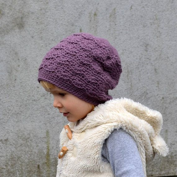 Lacy Alpaca Winter Hat for Baby / Toddler Gril. by acrazysheep