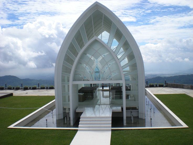 La Kana wedding chapel, Bandungan.  one hour drive from Semarang, Indonesia.