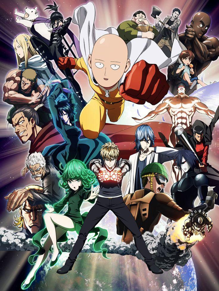 One Punch Man Opening & Ending Creditless. The Hero!! by JAM Project. Hoshi yori Saki ni Mitsukete Ageru by Hiroko Moriguchi.