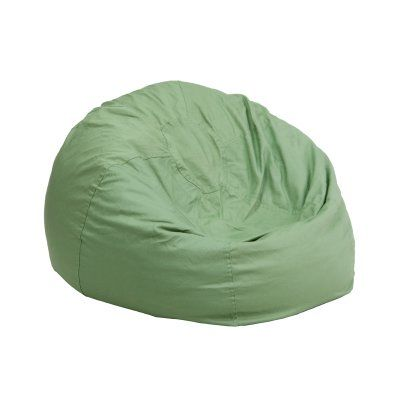 Flash Furniture Small Kids Bean Bag Chair Green - DG-BEAN-SMALL-SOLID-GRN-GG