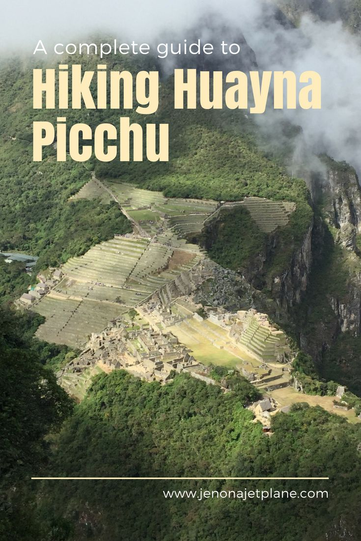 What you need to know before hiking Huayna Picchu in Peru! One of the top 10 most dangerous hikes in the world. The views of Machu Picchu from the Wayna Picchu summit are incredible! Don't miss out on this unique perspective of a World Wonder!