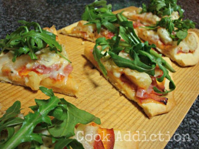 Receita Prato Principal : Pizza havaiana de Addicted