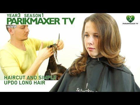 Как подстричь длинные волосы How to cut long hair парикмахер тв parikmaxer.tv peluquero tv - YouTube