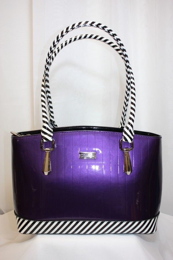 Serenade Handbag, Genuine Patent Leather available now at Adorne, Greytown www.adorneme.co.nz