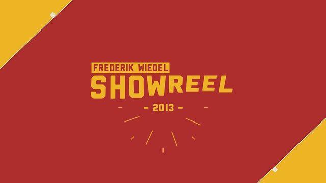showreel 2013 | Frederik Wiedel on Vimeo