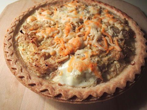 Sauerkraut Pie. Tastes a lot better than it sounds.