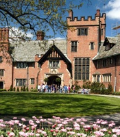 Stan Hywet Hall in Akron, Ohio