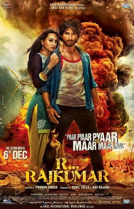#RRajkumar #Rajkumar starring #ShahidKapoor , #SonakshiSinha & #SonuSood - http://latestsdaily.com/r-rajkumar-2013-bollywood-movie-release-date-movie-hd-official-trailer-review/  The movie is directed by Prabhu Deva and produced by Vikram Rajani and Eros International. On the same the movie is written by Shiraz Ahmed.  #Bollywood