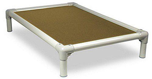 Aus der Kategorie Betten  gibt es, zum Preis von   KURANDA Hundebett - XL PVC Almond/ Gold Cordura