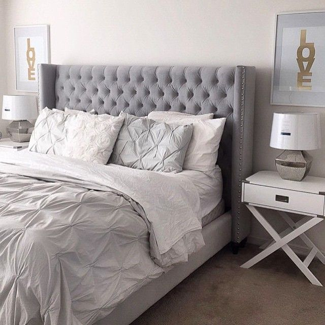 Teen S Bedroom With Feature Grey Wall And Monochrome Bed Linen: Best 10+ Gray Bed Ideas On Pinterest