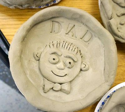 that artist woman: Fathers Day Clay