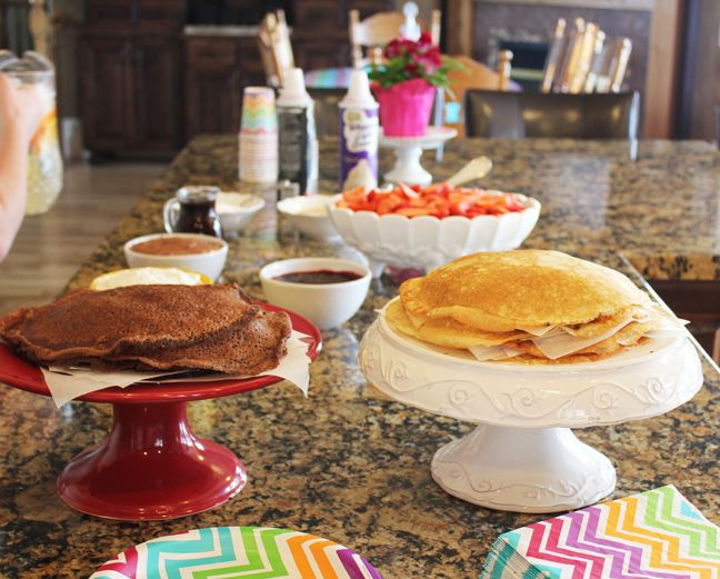 Hosting a Crepe Bar Party is fun and loved by guests old and young alike. If you read My Weekend Report last Saturday, you saw that a few ward members and I hosted a Crepe Bar for our Faith In God ...