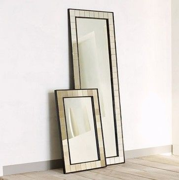 Antique Tiled Floor Mirror - Eclectic - Mirrors - West Elm
