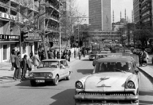 Kızılay 1970 ler Eski Ankara Fotoğrafları 1