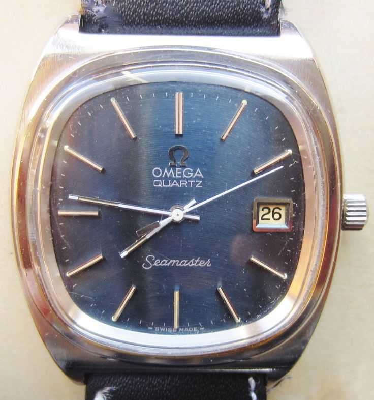 Gents Stainless Steel Omega Seamaster Quartz Date Watch Cal 1342 Professionally Serviced 6 Months Warranty by Sparkleonyourfingers on Etsy