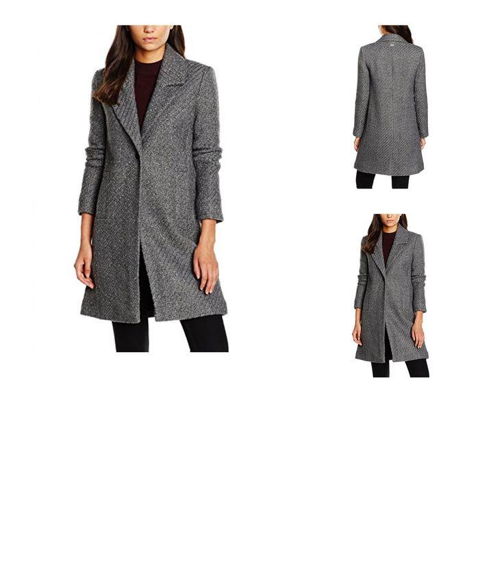 8434341071221 | #Pepe #Jeans #Damen #Mantel #Doris, #Grau #(Grey #Marl), #6 #(Herstellergröße: #XXS)