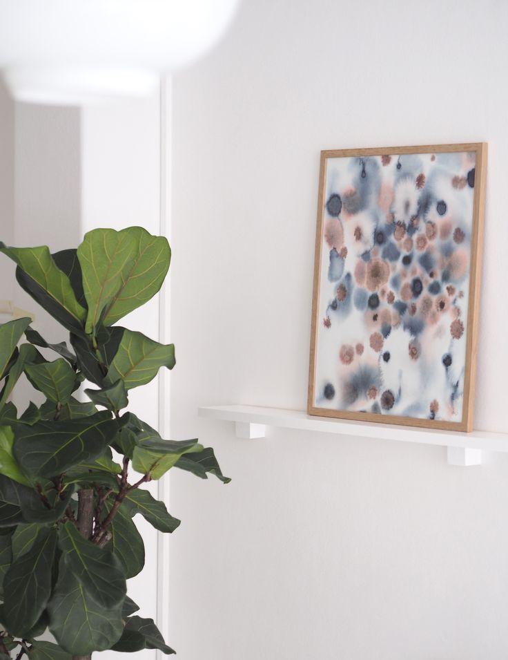 """Dot"" art print by Silke Bonde"