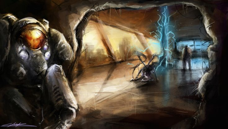 starcraft 2 : heart of the swarm final scene by VitoSs.deviantart.com on @deviantART