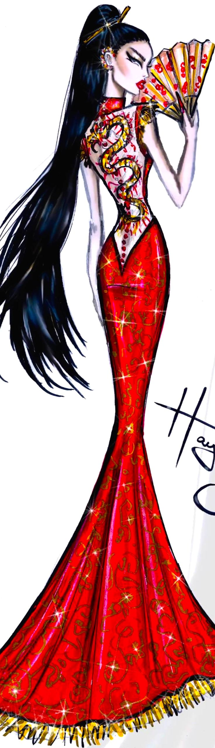 ~Hayden Williams Fashion Illustration | House of Beccaria#                                                                                                                                                      More