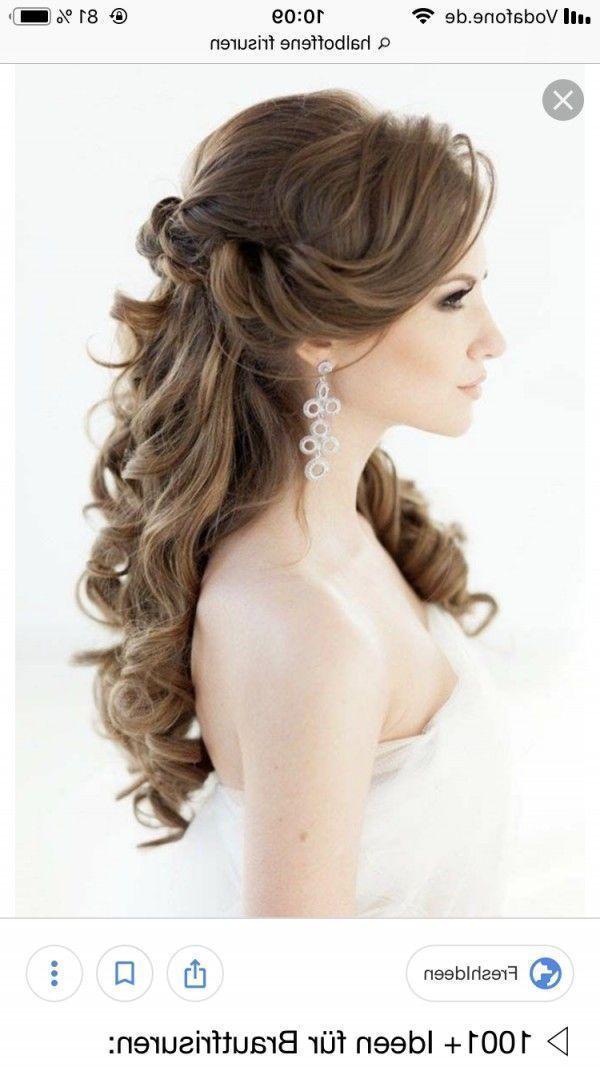 Best Of Jugendweihe Frisuren 2019 Jugendweihefrisuren2018 Jugendweihefrisuren Frisur In 2020 Curled Wedding Hair Bride Hairstyles Diy Wedding Hair