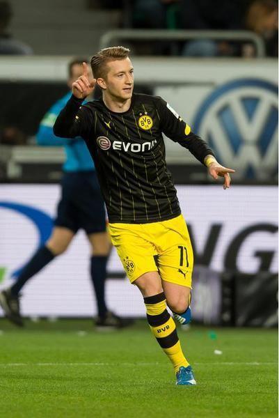 Marco Reus..Encuentro contra Wolfsburg
