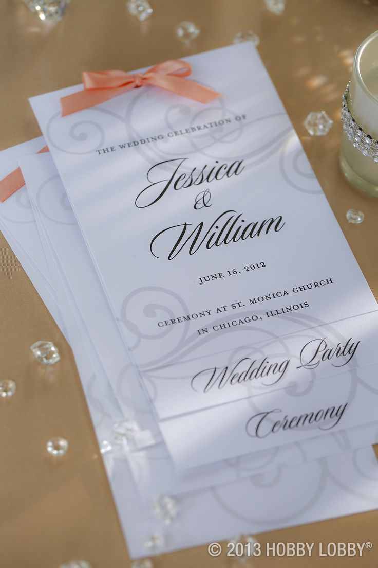 Best 25 Cheap Wedding Programs Ideas Only On Pinterest