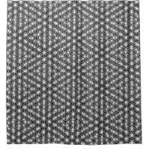 Flower Of Life Intricate Weave #2 Shower Curtain