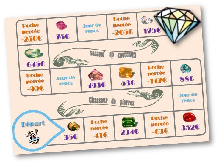 Chasseurs de pierres, jeu sur la monnaie