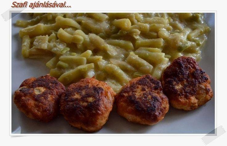 Éhezésmentes Karcsúság Szafival: Túró-csirkemell fasírt (diétás fasírt recept)
