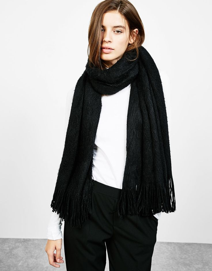 Super soft scarf - Accessories - Bershka Turkey