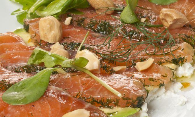 Receta de carpaccio de salmón | Cantabria | Spain