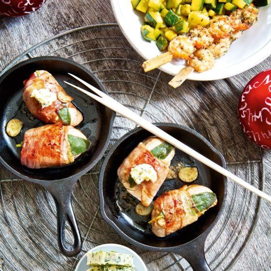 Varkenshaas met rauwe ham en salie - Deze varkenshaas is heerlijk met een vlokje truffelboter. #kerst #gourmet #JumboSupermarkten