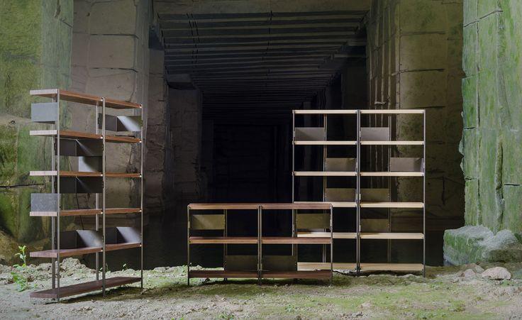 DRIADE ZigZag bookshelfs